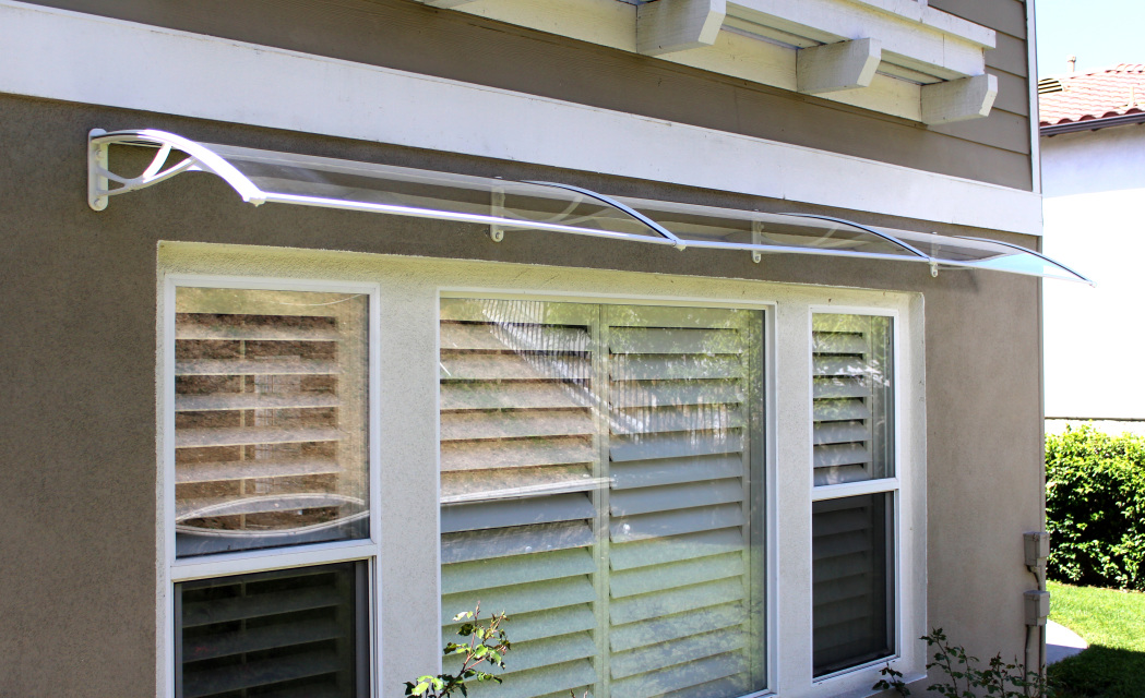 Door Polycarbonate Awnings & Door Awnings - Patio Covers - Windows Awnings - Patio Shade ...
